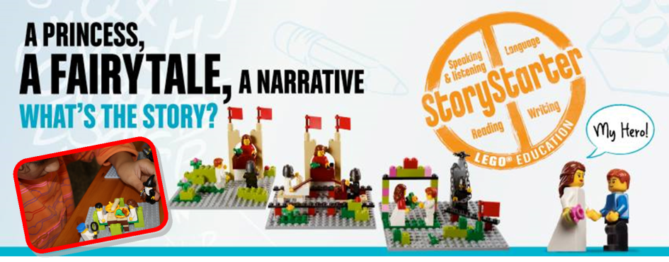 LEGO® StoryStarter: Language Skills + Digital Literacy
