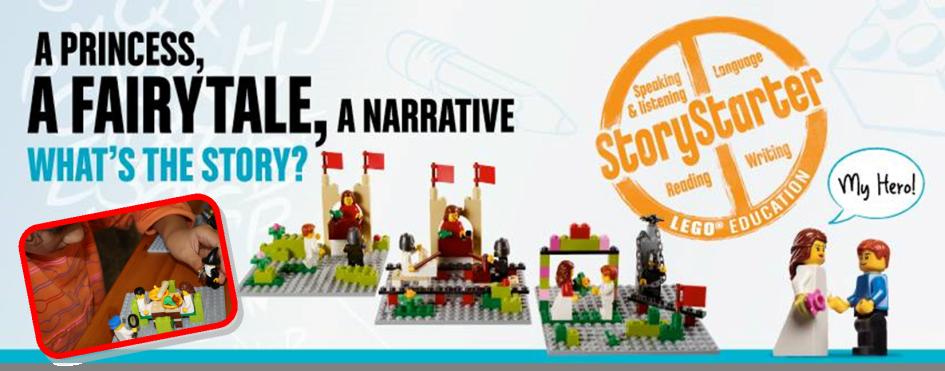 LEGO® StoryStarter: Language Skills + Digital Literacy