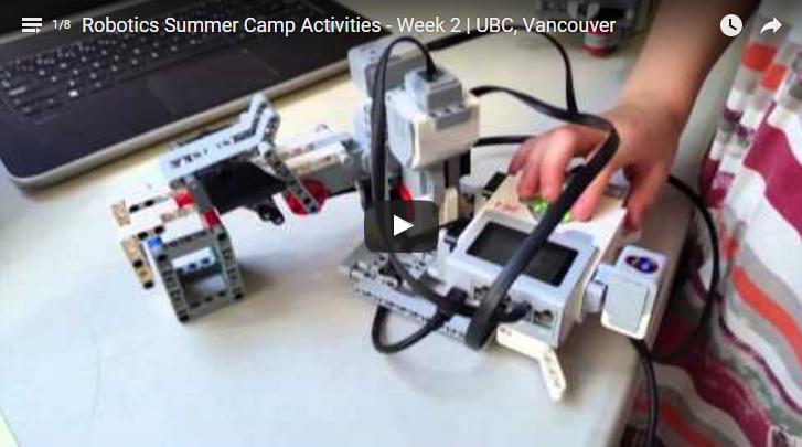 LEGO Robotics Camp Vancouver 2016