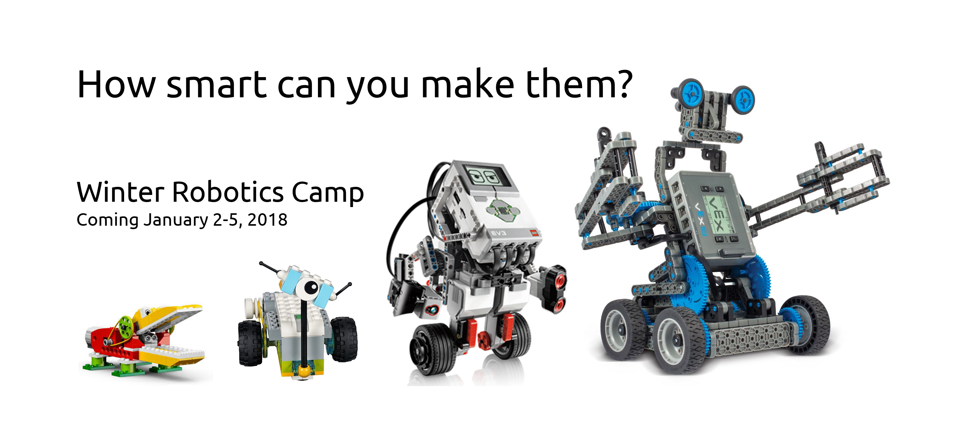 Robotics Winter Camp With Lego Education At Ubc January 2018