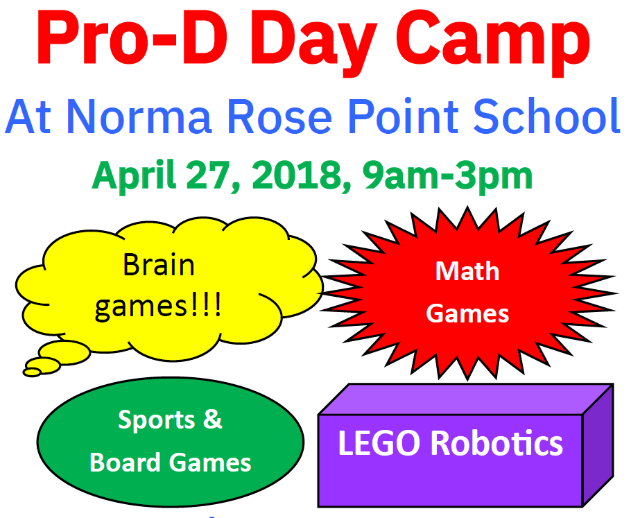 Spring Term, BrickCan, Pro-D Days & Summer Camps for LEGO Robotics!