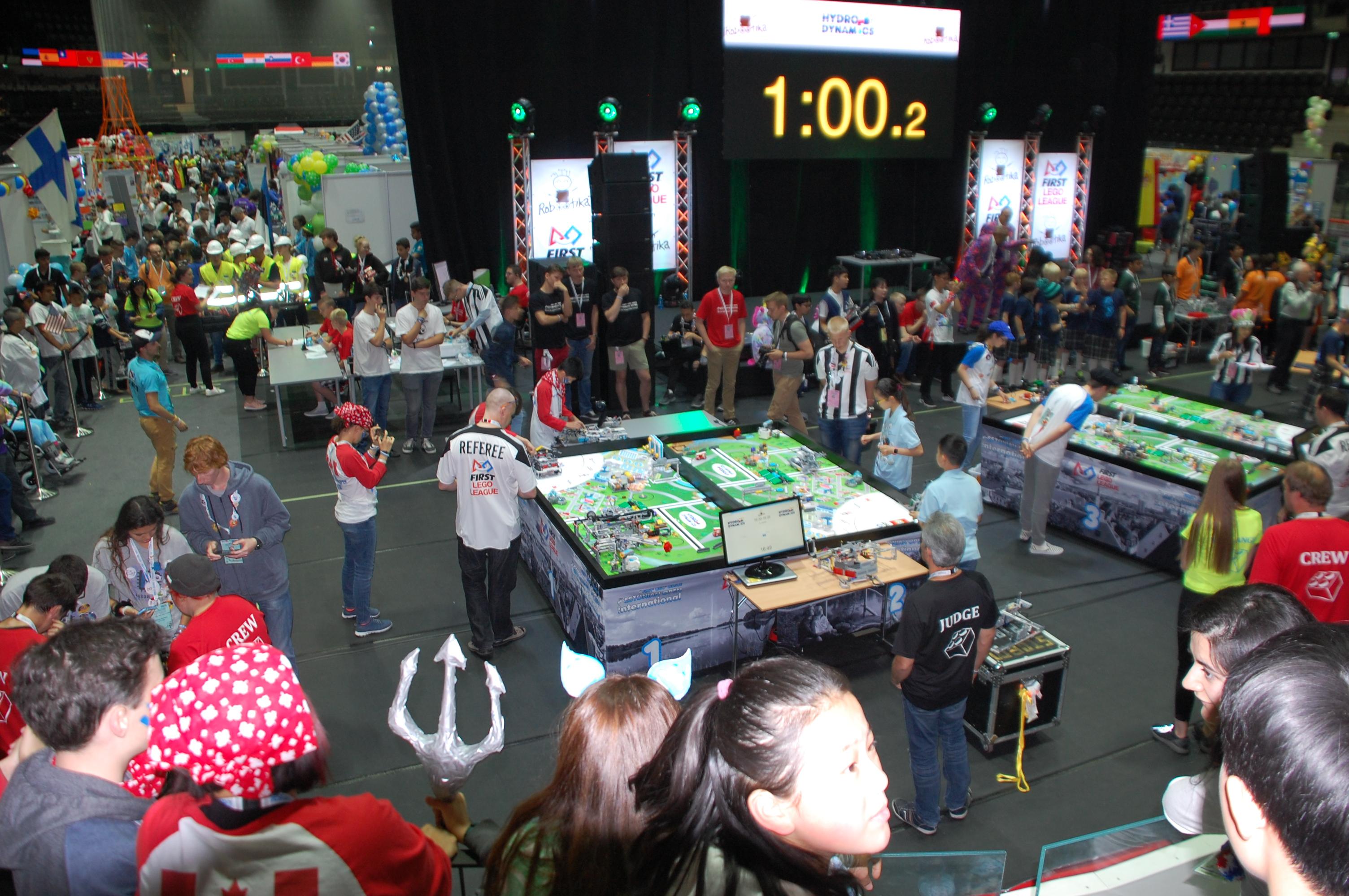 FIRST LEGO League Open International Robotics Competition