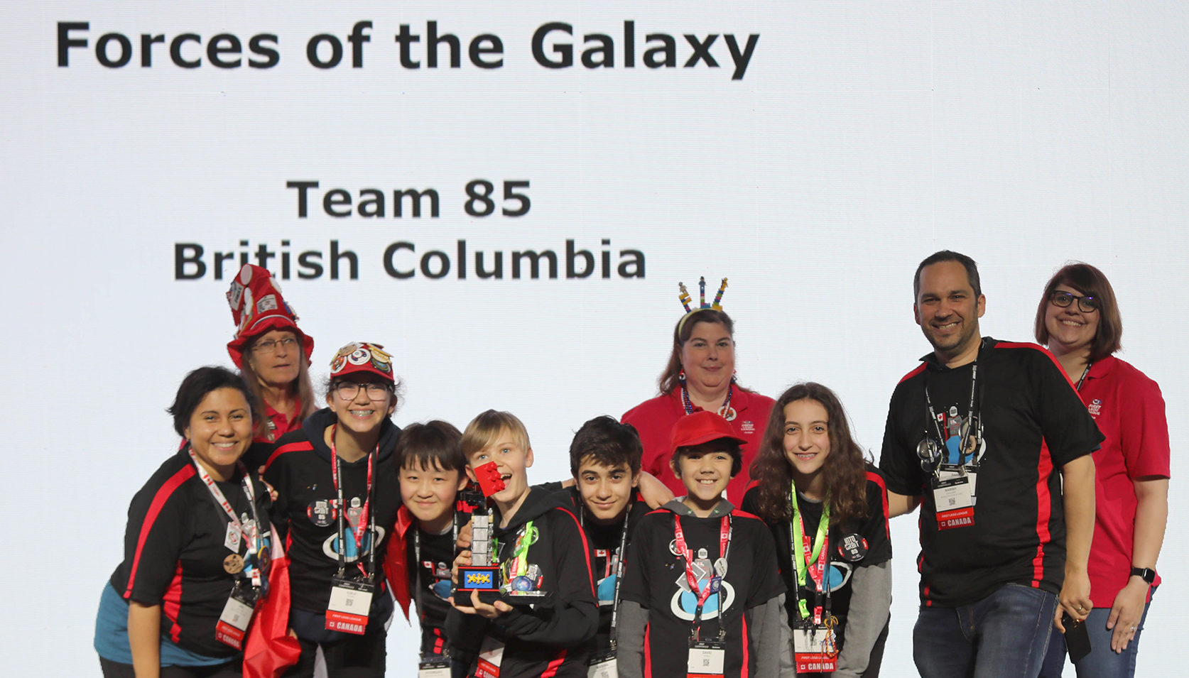 FIRST LEGO League British Columbia Vancouver Team Houston